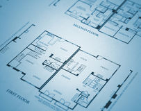 Home Plans Royalty Free Stock Photography
