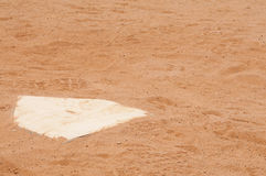 Home Plate Stock Photo