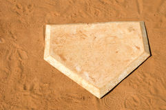 Home Plate Royalty Free Stock Images