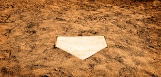 Home Plate Stock Photos