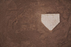 Home Plate Background Royalty Free Stock Photo