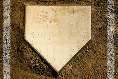 Home Plate Royalty Free Stock Photos