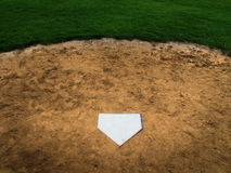 Home Plate Baseball Stock Photography