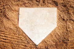 Home Plate Royalty Free Stock Photo