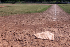 Home Plate Right Side Royalty Free Stock Photography