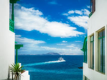 Home in Playa Blanca Stock Image