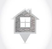 Home pointer illustration design Stock Photos