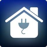 Home power adaptor Stock Photography
