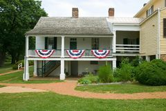 Home of President James Monroe, Stock Photos