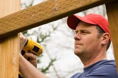 home projektreparation för handyman Fotografering för Bildbyråer