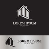 Home property logo. This is home property logo icon vector Royalty Free Stock Images