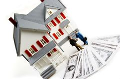 Home Purchase royalty free stock images