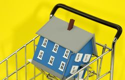 Home Purchase Stock Photo