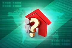 Home purchase or rent concept Royalty Free Stock Photo