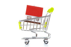 Home and pushcart Royalty Free Stock Photography