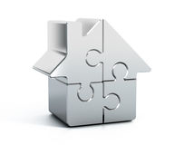 Home puzzle Stock Images