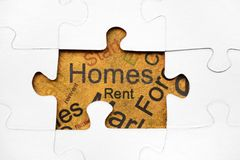 Home puzzle concept Royalty Free Stock Photography