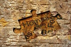 Home puzzle concept Stock Photos
