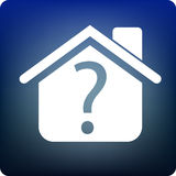 Home query Royalty Free Stock Photo
