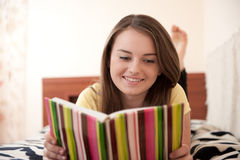Home reading Royalty Free Stock Photography