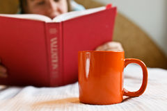 Home reading Stock Photography