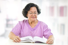 Home reading Royalty Free Stock Images