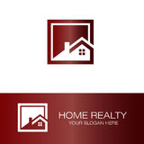 Home realty logo. This is home realty logo icon vector Royalty Free Stock Image