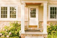 Home rear doorway Stock Images