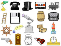 Home related objects Royalty Free Stock Images
