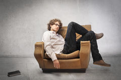 Home relax Stock Image