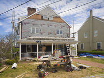 Home remodelling. Home remodeling in the Spring to be ready for Summer vacation Stock Images
