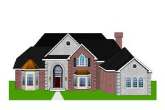 Home Rendering Stock Photos