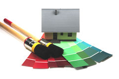 Home renovation stock image