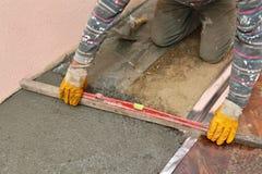 Home renovation, concrete Royalty Free Stock Photo