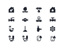 Home renovation icons. Lyra series Royalty Free Stock Image