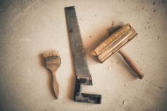 Home renovation instruments Stock Photography