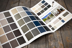 Home Renovation Painting Brochure Royalty Free Stock Images