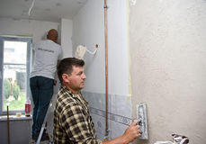 Home renovation team Royalty Free Stock Photography