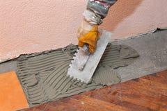 Home renovation, tiles Royalty Free Stock Photo