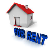 Home for rent Royalty Free Stock Photography