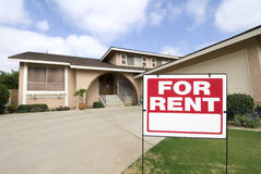 Home for rent Stock Images
