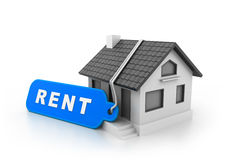 Home for rent Royalty Free Stock Photos