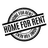 Home For Rent rubber stamp Stock Image
