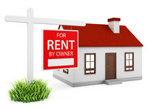 Home for rent Royalty Free Stock Photo