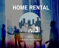Home Rental House Property Rent Concept royalty free stock images