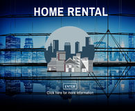 Home Rental House Property Rent Concept Stock Images