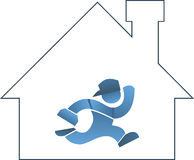 Home repair icon Royalty Free Stock Photos