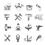 Home Repair Icons Set Royalty Free Stock Image