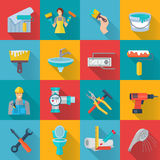 Home Repair Icons Set Royalty Free Stock Images