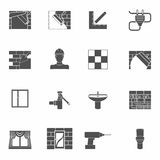 Home repair icons set Royalty Free Stock Photography